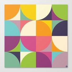 Quarters Quilt 4 Canvas Print