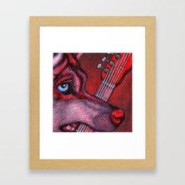 Guitar Wolf Part 1 Framed Art Print
