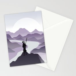 vision of the true mind Stationery Cards