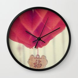 Chinese Lanterns IV Wall Clock