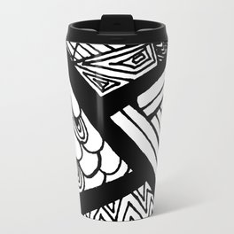 Zentangle #17 Travel Mug
