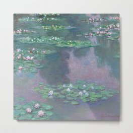 Water Lilies Monet 1905 Metal Print