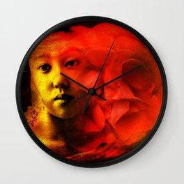 Even in Dreams Wall Clock
