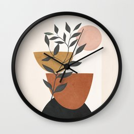 Branch and Elements Wall Clock