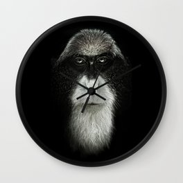 Debrazza's Monkey Square Wall Clock