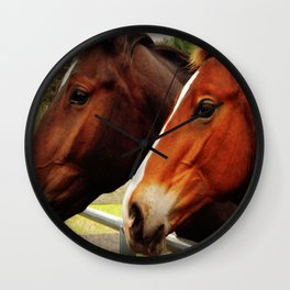My Barn Or Yours? Wall Clock