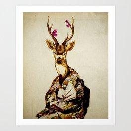 Memoirs of a Deer Art Print