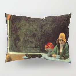 AUTOMAT - EDWARD HOPPER Pillow Sham