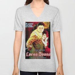 Vintage poster - Lorna Doone Unisex V-Neck