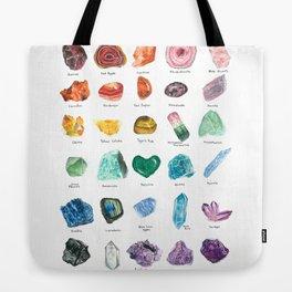 Rainbow Chart Tote Bag