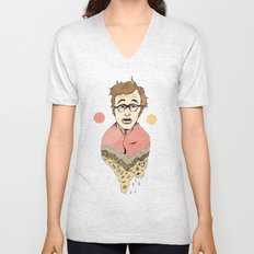 Woody Allen's Ghost Unisex V-Neck