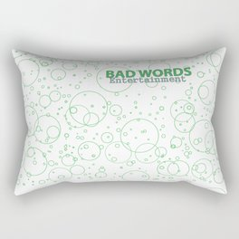 Bad Circles Rectangular Pillow