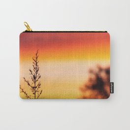 Simple Plant in Camargue Sunrise Carry-All Pouch