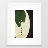 aliens Framed Art Prints featuring Aliens by Nicholas Hyde