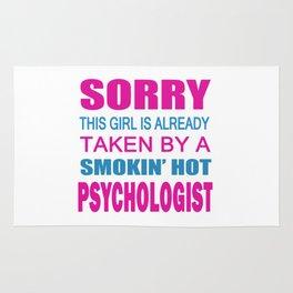 TAKEN BY A PSYCHOLOGIST Rug