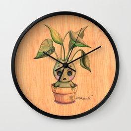 Baby Mandrake Wall Clock