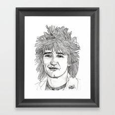 Rod the Mod Framed Art Print
