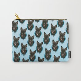 Scottie Print Carry-All Pouch
