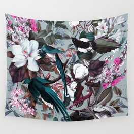 Floral and Birds XXIV Wall Tapestry