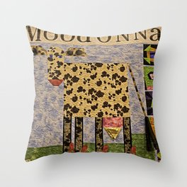 MoodOnNNa Throw Pillow