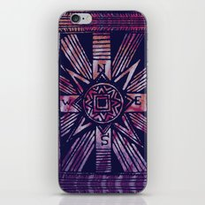 colored compass iPhone & iPod Skin