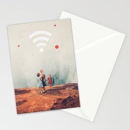 Wirelessly connected to Eternity Stationery Cards
