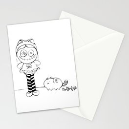 Crazy Doll Stationery Cards