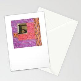 Alpha-Numero: E Stationery Cards