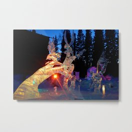 Maidens of Birch Tree Metal Print