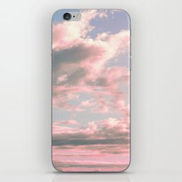Delicate Sky iPhone Skin
