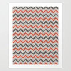 Chevron. Art Print