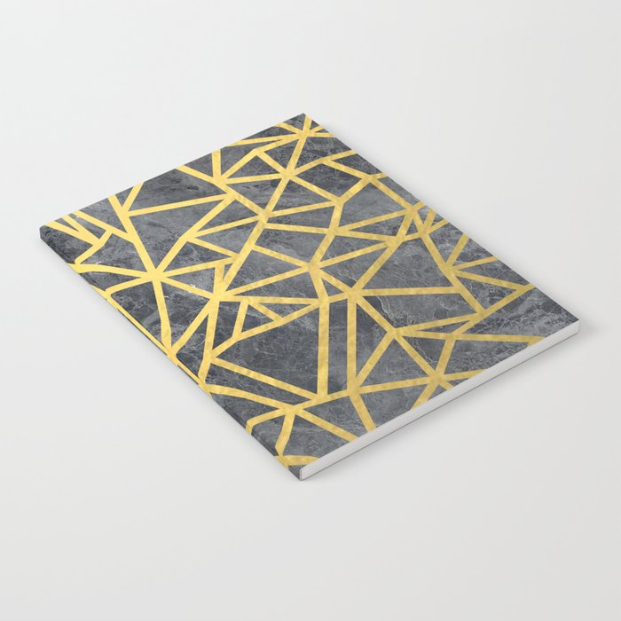 Ab Marb Gold Notebook