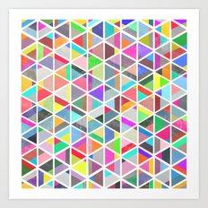 unfolding 4 Art Print