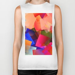 Play with transparent cubes and plates Biker Tank