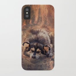 Bright-eyed dreamer iPhone Case