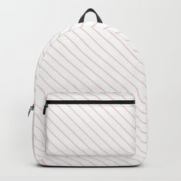 Rose Quartz Stripe Backpack