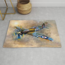 Spitfire Dawn Flight Rug