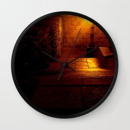Night Crest 5 Wall Clock