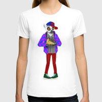 sneaker T-shirts featuring Sneaker Lemur by Dyna Moe