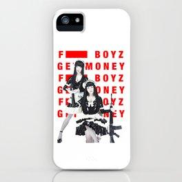 FxxK Boyz Get Money FEMM iPhone Case