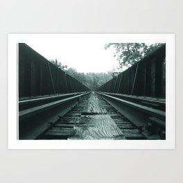 BTTF III Runway Art Print