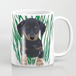 Sausage Dog Design Coffee Mug