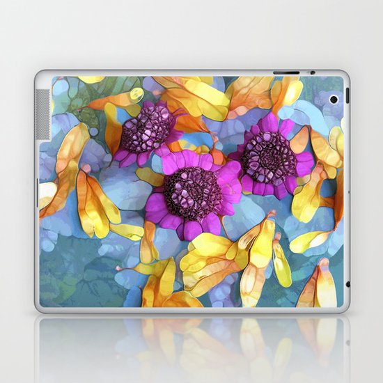 Happy Days Are Here Again Laptop & iPad Skin