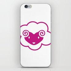 PINK SHEEP iPhone & iPod Skin