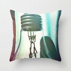 Art should disturb the comfortable. Throw Pillow