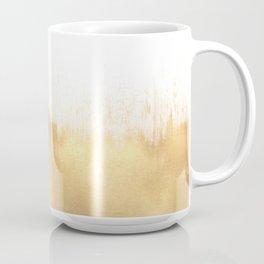 Brushed Gold Coffee Mug