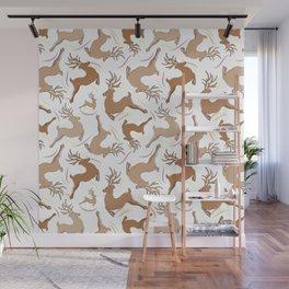 Reindeer! Wall Mural