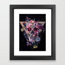 New Skull Framed Art Print