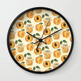 Apricot Jam Wall Clock