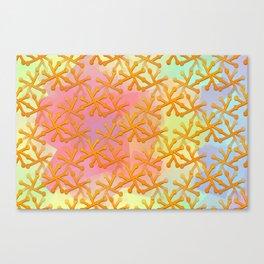 Goldflakes ... Canvas Print
